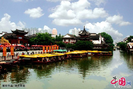 Confucius Temple in Nanjing, one of the 'Top 10 snack streets in China' by China.org.cn