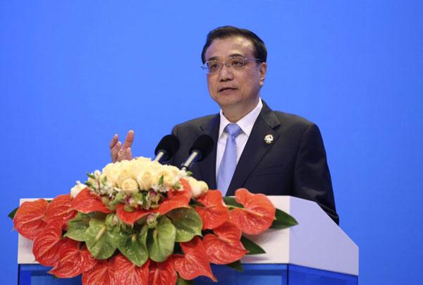 3月24日,李克强总理出席博鳌亚洲论坛开幕式并发表演讲。[新华社]