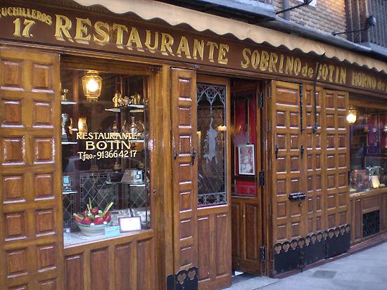 西班牙马德里的博坦餐厅(Botín) [资料图]