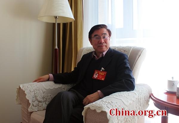 全国政协委员、中国翻译协会常务副会长黄友义 [中国网]