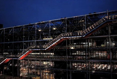 The Centre Pompidou was inaugurated on January 31, 1977. From the moment it opened to the public on February 2, 1977, it was met with immense success, rapidly becoming one of the most popular cultural venues in the world and one of the most visited monuments in France. [centrepompidou.fr]