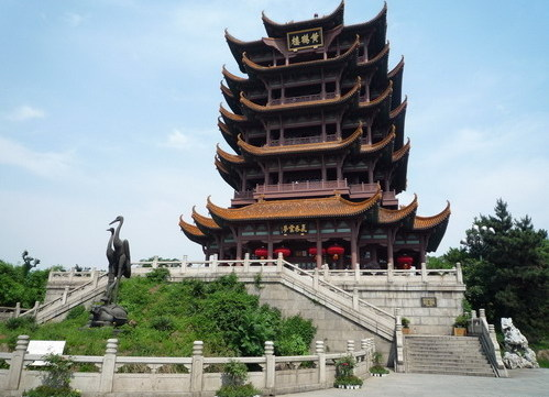 If you're in Wuhan, an absolute must-see is the Yellow Crane Tower. [wh.gov.cn]