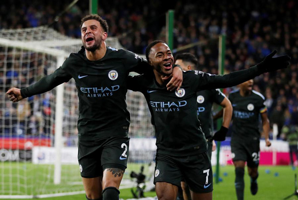 Guardiola revels in 'astonishing' Man City win
