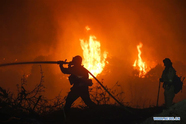 Santa Ana winds to bring fire danger to Southern California