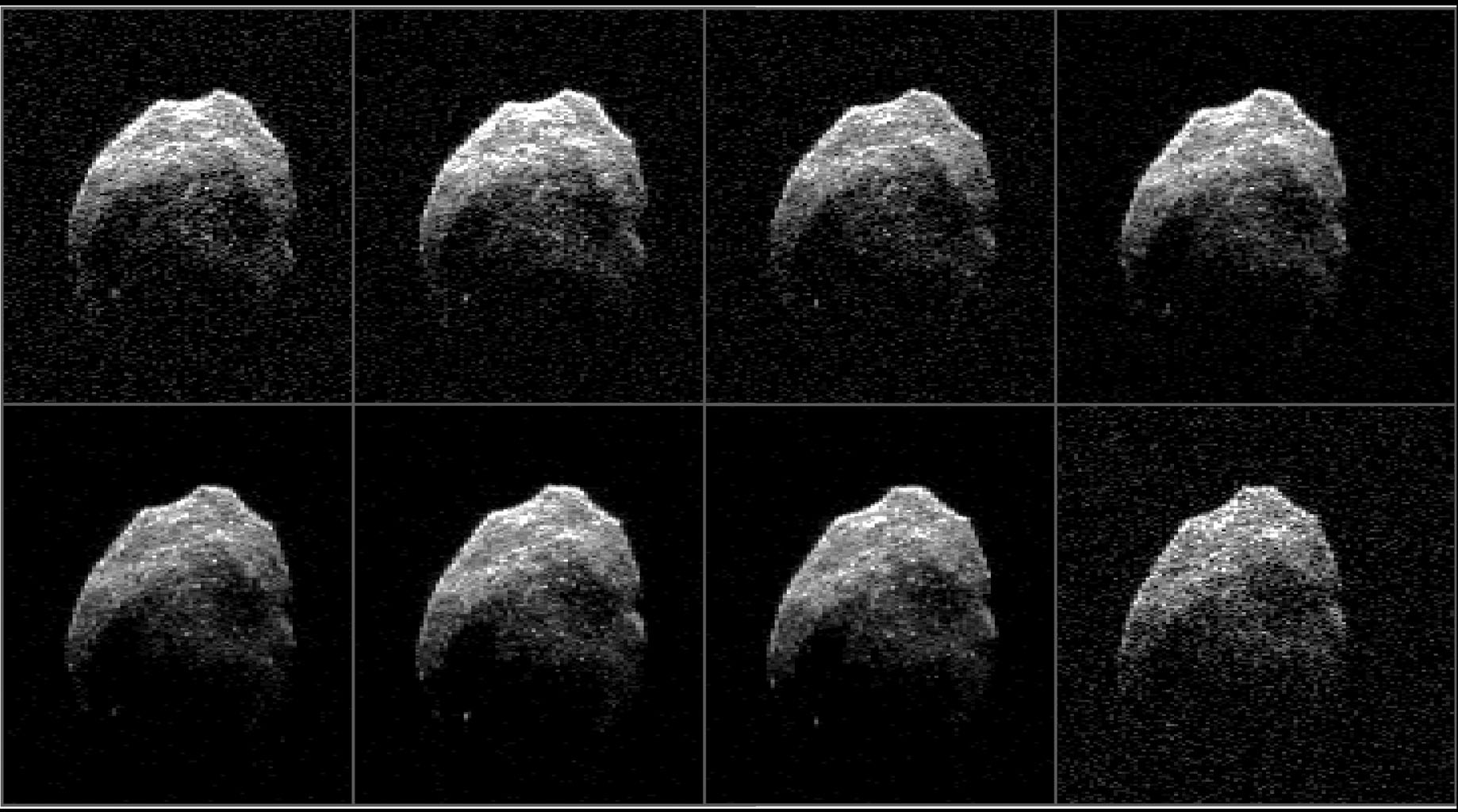 A skull-shaped asteroid will approach the Earth again in 2018