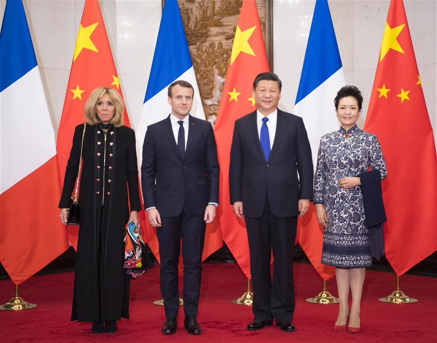 France's Macron embarks on first China visit
