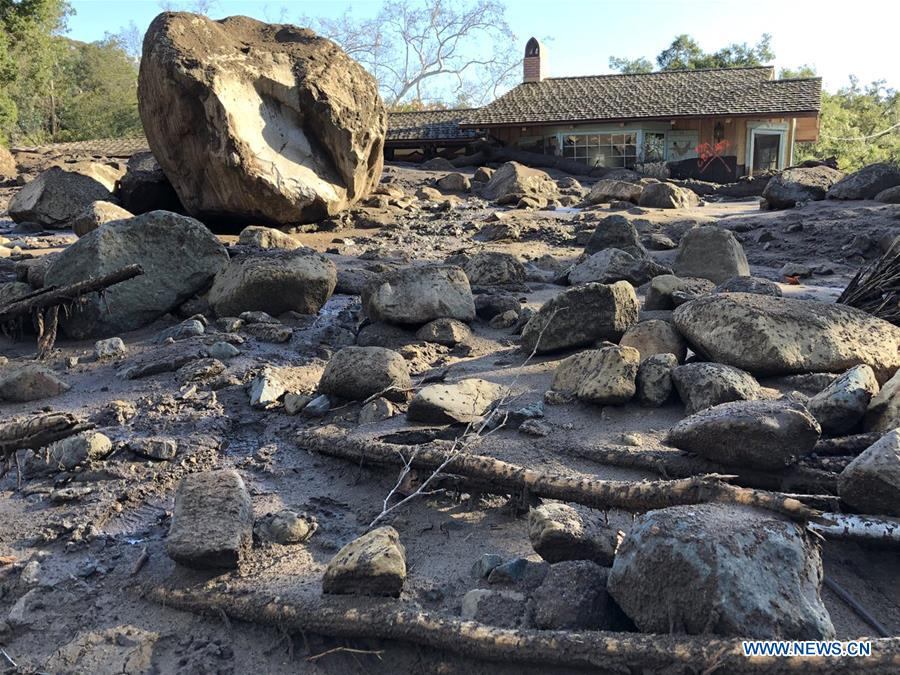 After wildfires, California is facing heavy rains and mudslides