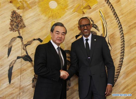 Chinese FM Wang Yi begins Africa trip in Rwanda