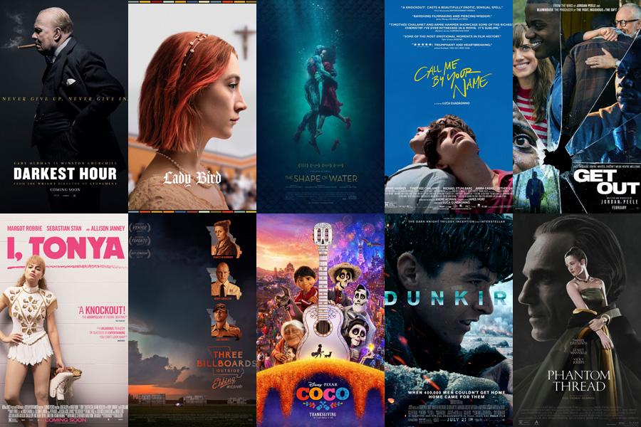 films nominés aux oscars 2018