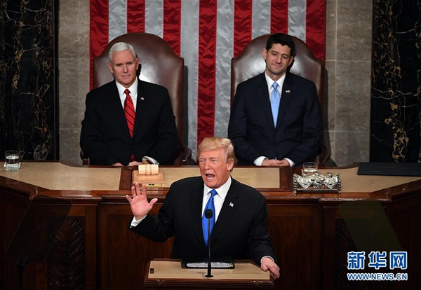 Trump calls Democrats 'treasonous' for not applauding his SOTU address