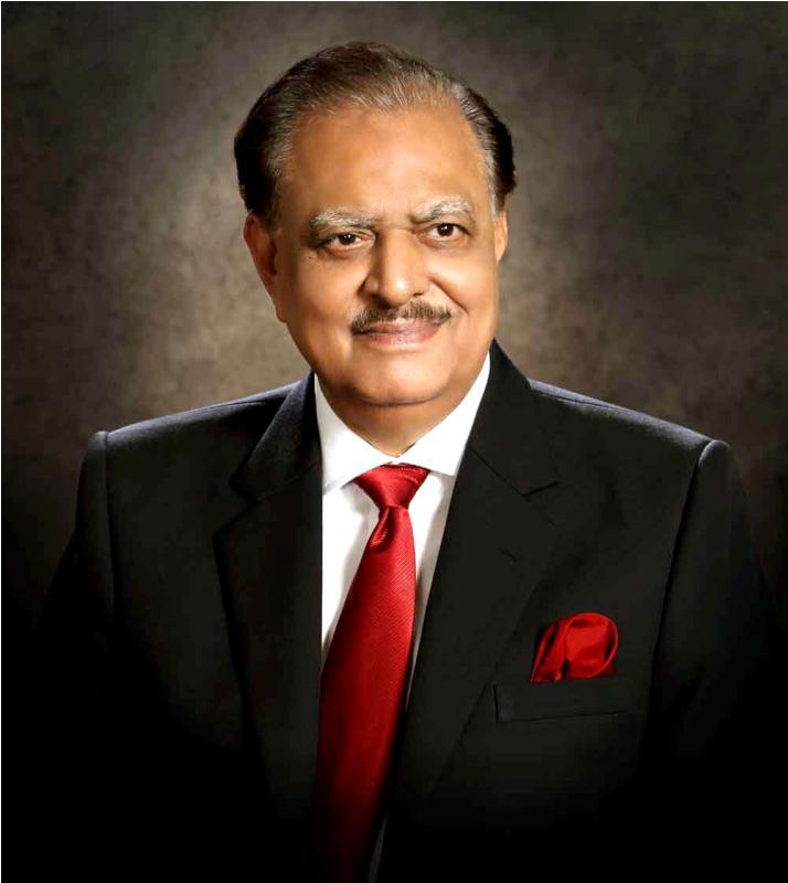 Pakistani President Mamnoon Hussain