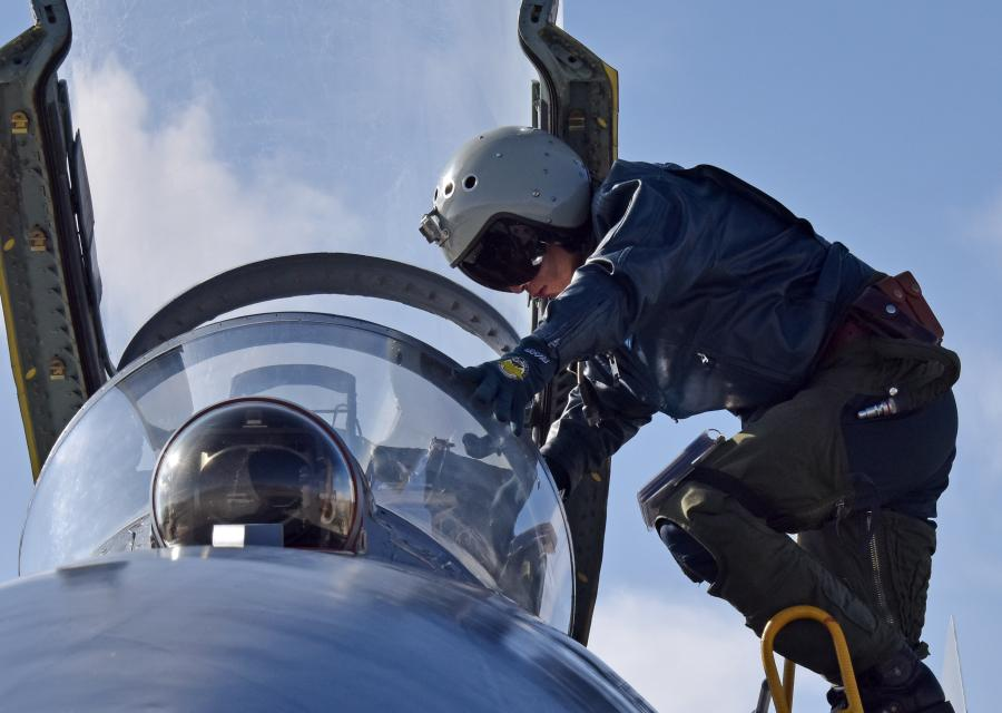 J-11 fighter jets fly at low temperature- China org cn