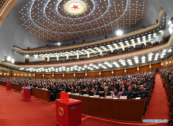 Term limits removed from constitution, giving Xi indefinite office