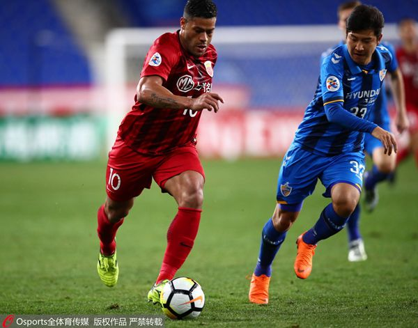 Shanghai advances to Asian Champions League knockout stage