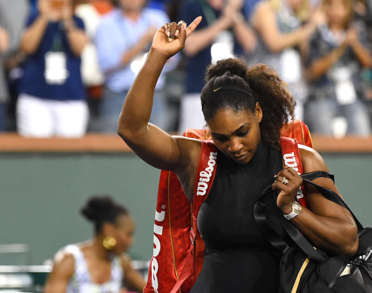 Red-hot Osaka beats her 'idol' Serena in Miami