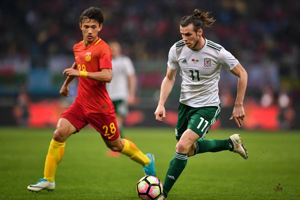 Bale hits hat-trick as Wales maul China 6-0