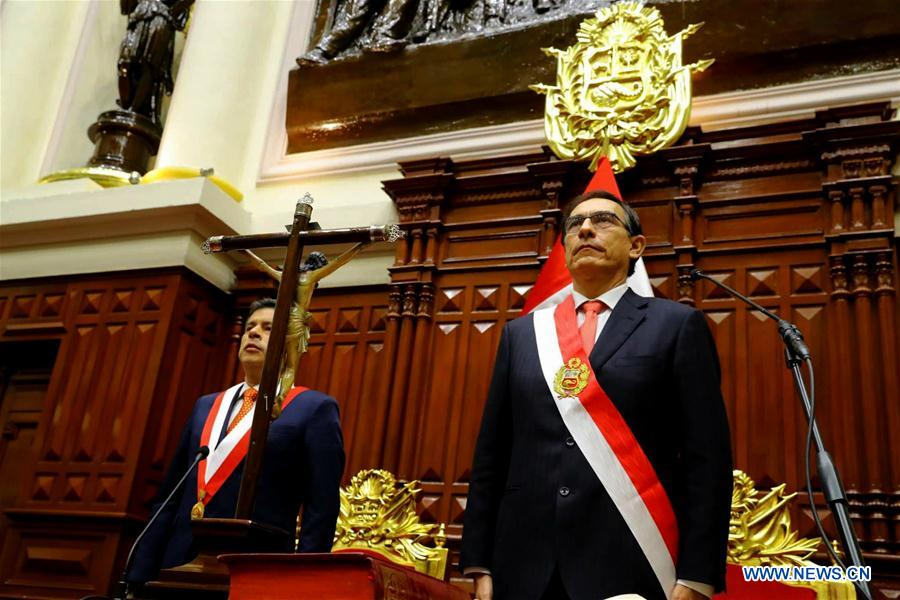 New President Takes Oath of Office in Peru After Kuczynski Resigns