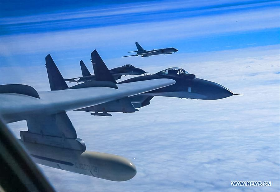 China air force drills again in South China Sea