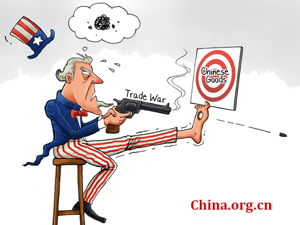 Image result for china trade cartoon