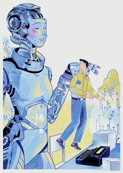 速记打字员,人工智能带来了繁荣时期
