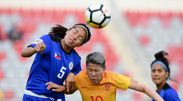 Malditas fall to China in Women's Asian Cup