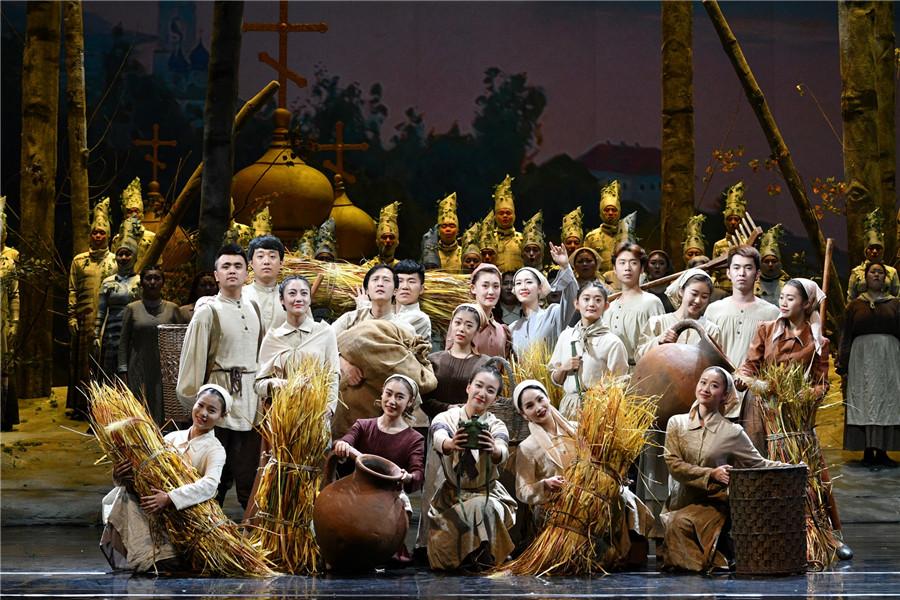 今年大剧院艺术节舞台26歌剧节目