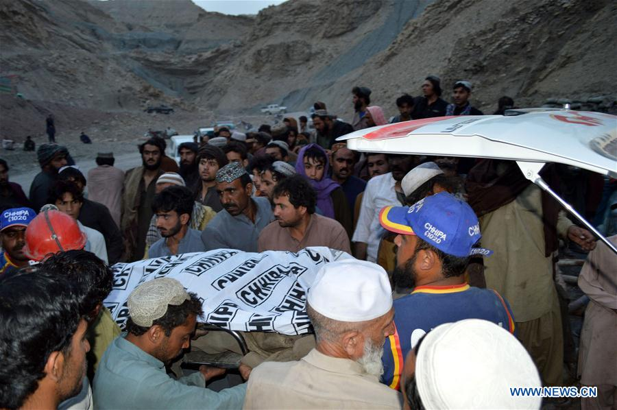 18 killed, 13 Injured in colliery collapses in Pakistan's Balochistan