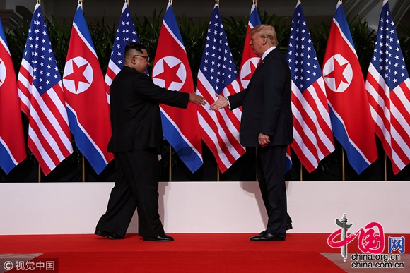 DPRK, US leaders hold historic meeting in Singapore