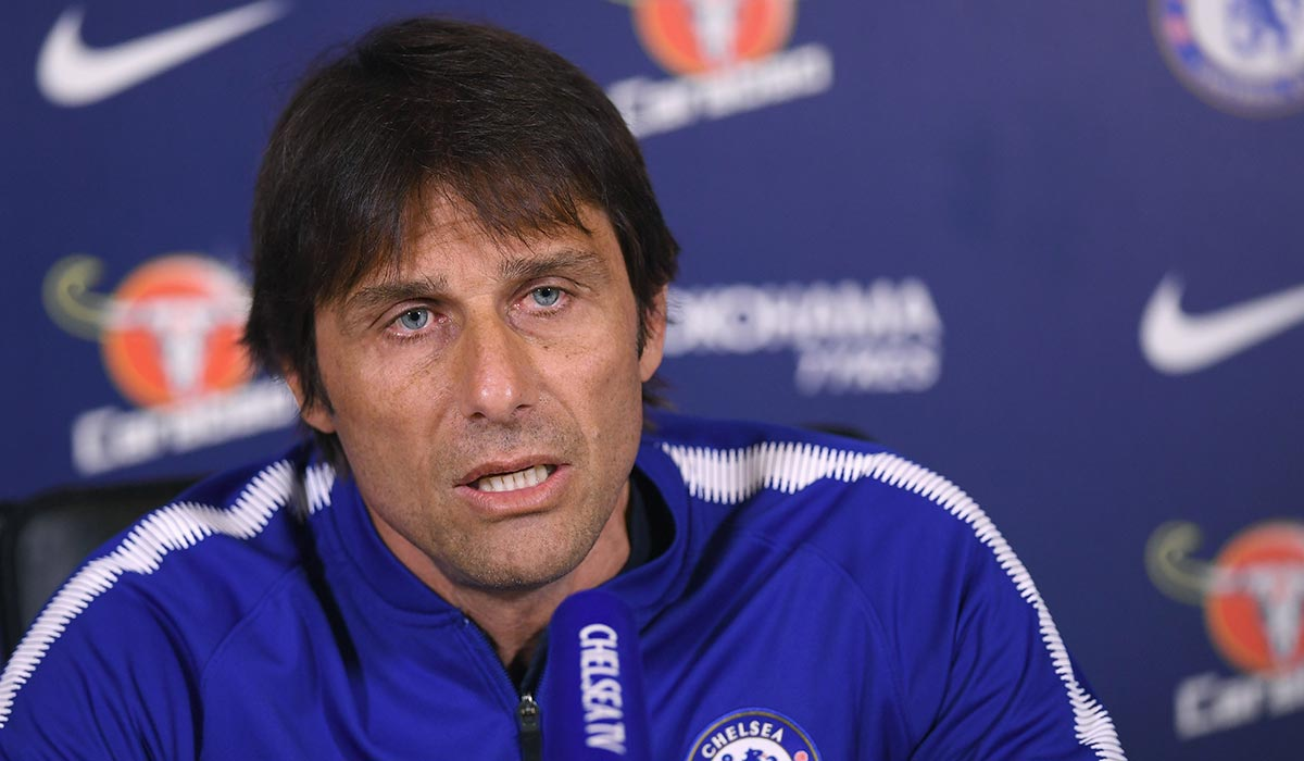Chelsea's incredibly short send off to Antonio Conte