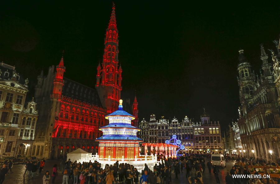 Brussels, one of the 'Top 10 most competitive cities in the world' by China.org.cn