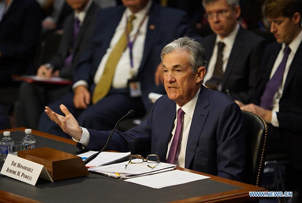 Dollar up as Powell reinforces rate hike views,…