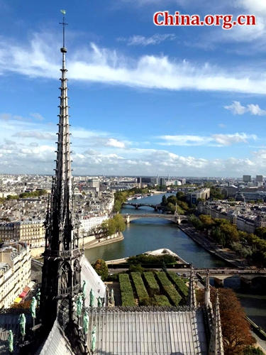 Paris, one of the 'Top 10 most competitive cities in the world' by China.org.cn