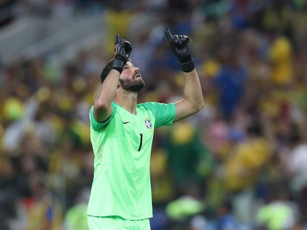 Liverpool's Mohamed Salah sent Alisson text messages urging him to join club