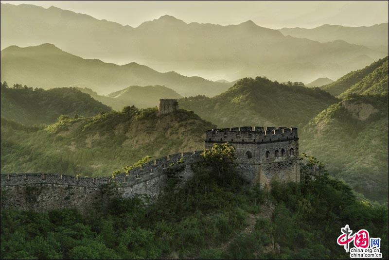 Jinshanling section of the Great Wall in Hebei, one of the 'Top 10 landmarks in China 2018' by China.org.cn