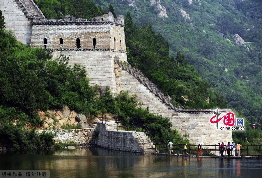 Huanghuacheng section of the Great Wall in Beijing, one of the 'Top 10 landmarks in China 2018' by China.org.cn