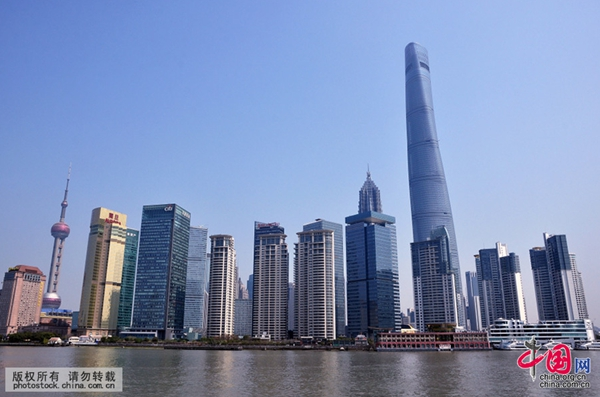 Shanghai Tower in Shanghai, one of the 'Top 10 landmarks in China 2018' by China.org.cn