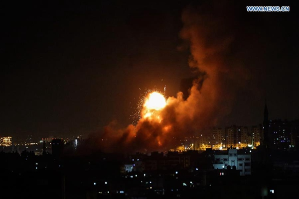 3 dead, 11 injured in rocket launches, airstrikes in Israel and Gaza