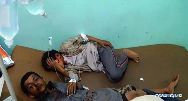 At least 43 killed, including children, in attack on Yemen market