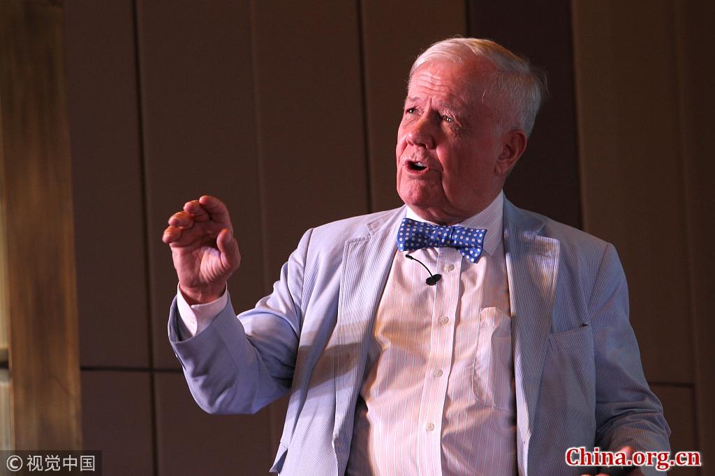 World-renowned investor Jim Rogers [Photo/China.org.cn]
