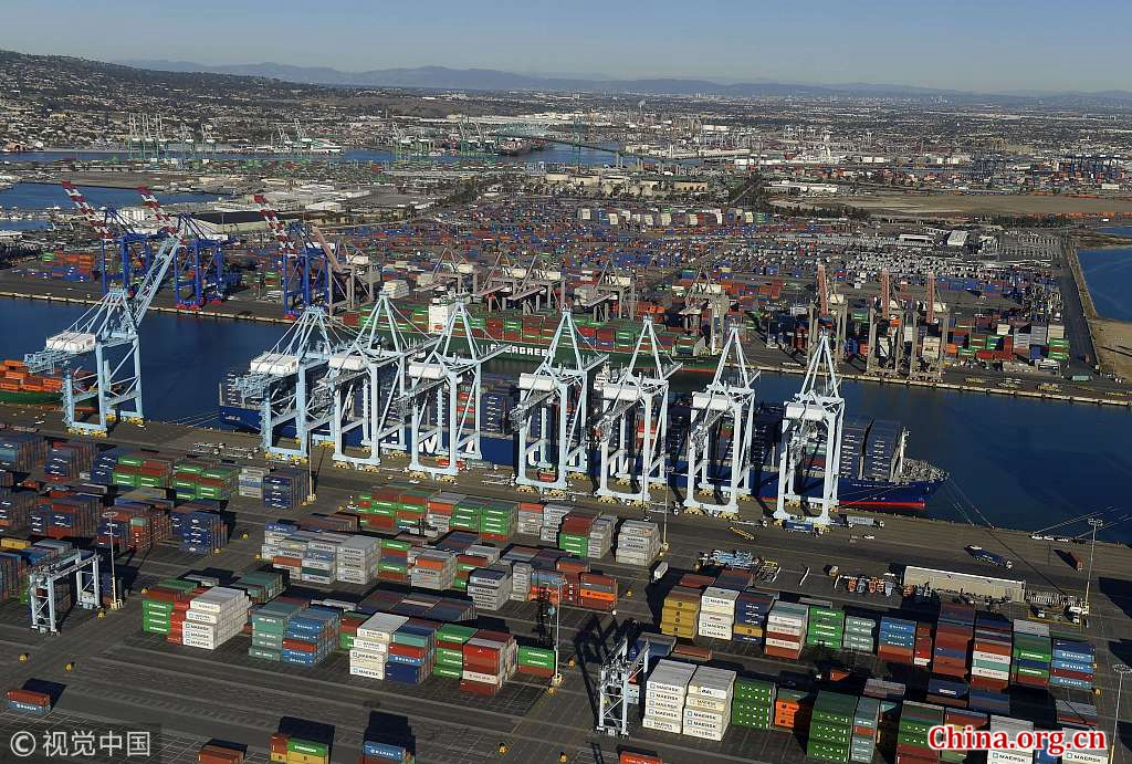 The Port of Los Angeles [Photo/China.org.cn]