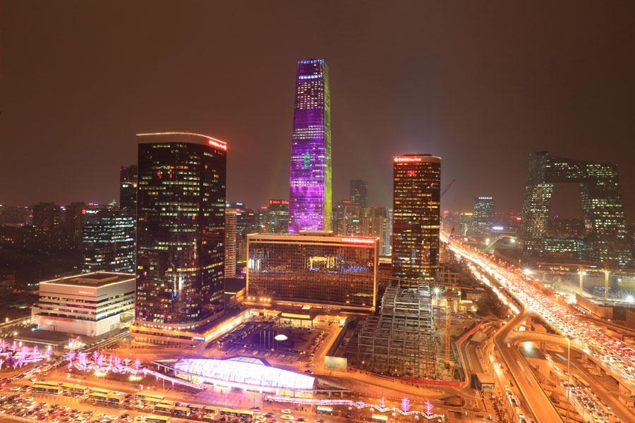 The 81-floor CBD tower in Beijing [Photo/chinadaily.com.cn]