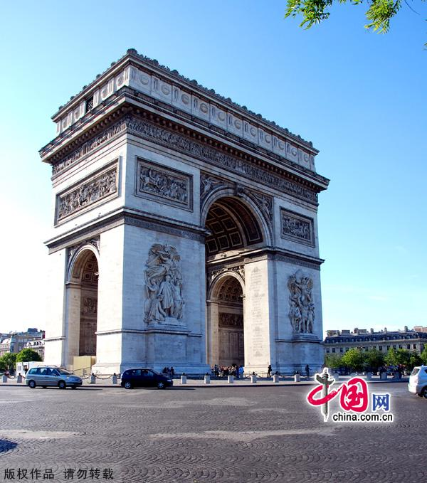 France, one of the 'Top 10 global tourism destinations ' by China.org.cn.