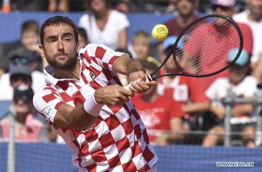 Croatia, France in box seats in Davis Cup