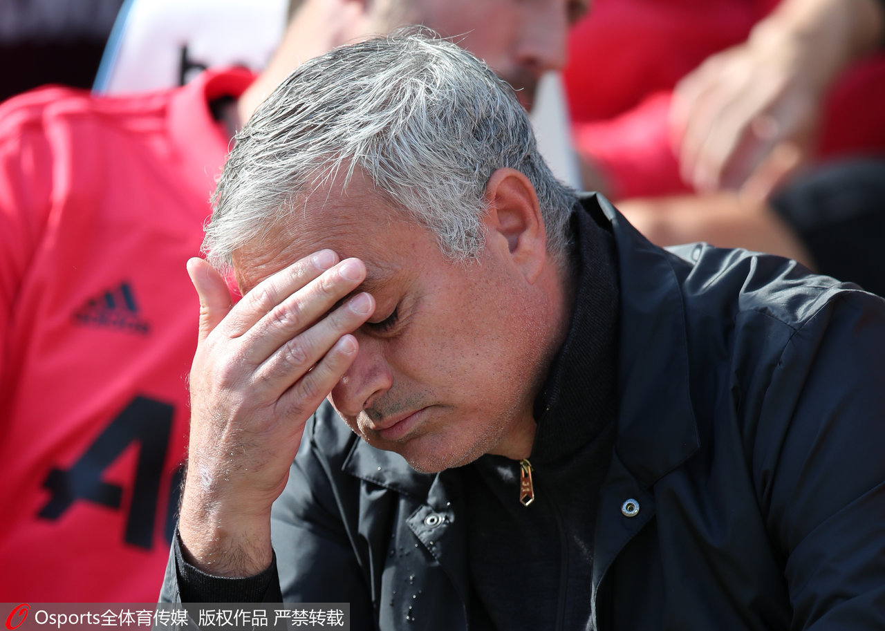 Jose Mourinho's men were close to a monumental win away at Chelsea