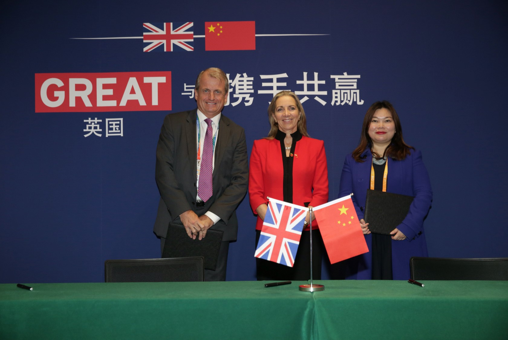 UK and Chinese creative industry firms sign deals worth over £40m at CIIE