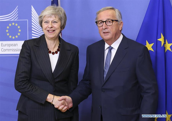 EU, UK agree draft on 'ambitious' post-Brexit ties