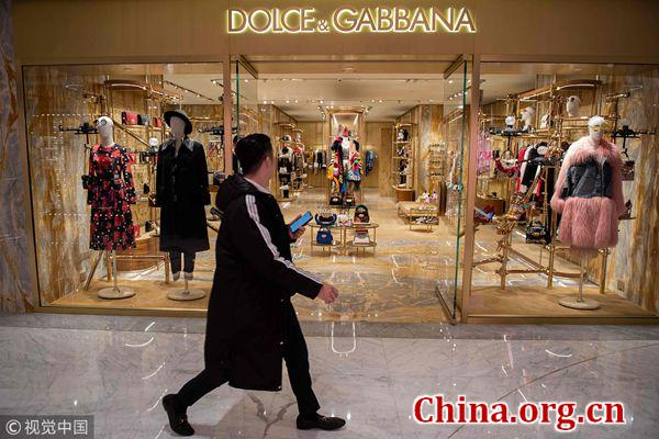 Dolce & Gabbana has now been dropped from a bunch of stores