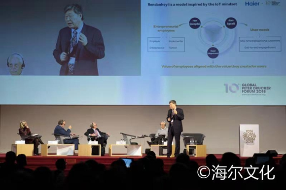 Zhang Ruimin lights the fire of management change