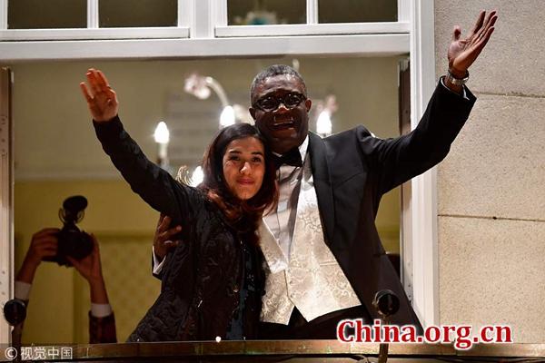 Two humanitarian heroes win Nobel Prize