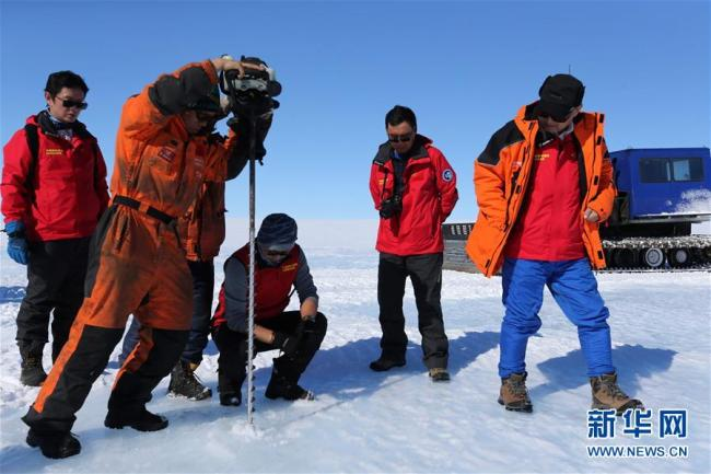 China discovers ideal blue ice sheet for building airport in Antarctic